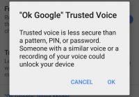Zo ontgrendel je binnenkort je Android-toestel met je stem
