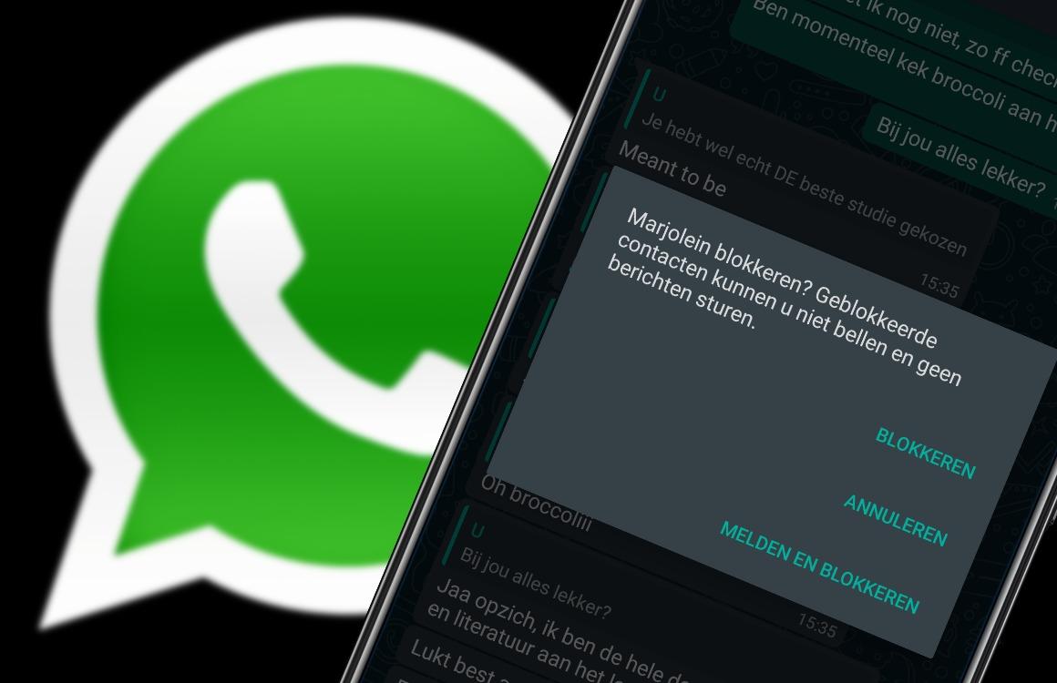 In 5 stappen iemand blokkeren op WhatsApp