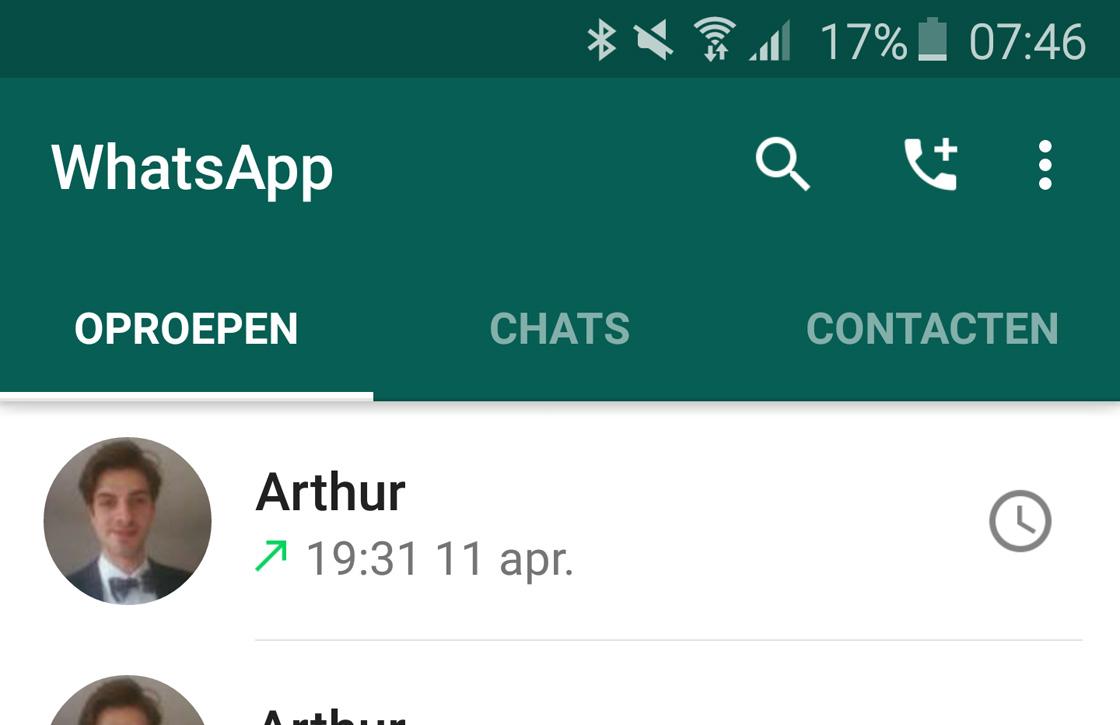 Tip: verminder het dataverbruik tijdens bellen met WhatsApp