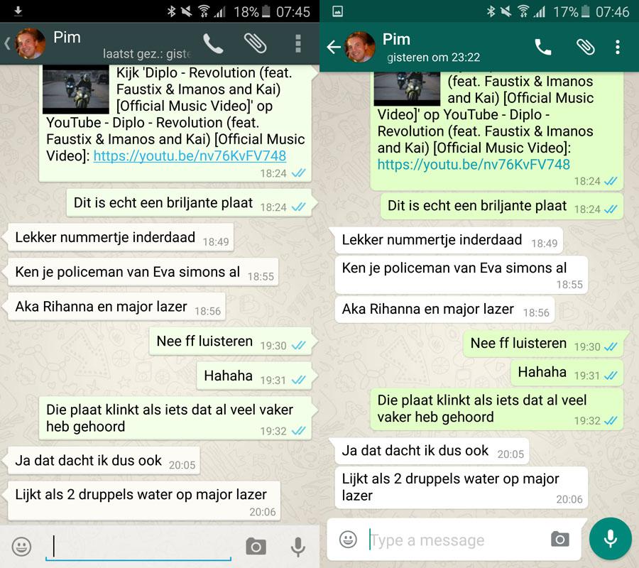 WhatsApp met Material ... Whatsapp Emoticons
