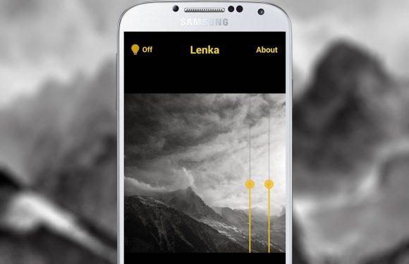 Lenka: monochrome foto-app met minimale opties
