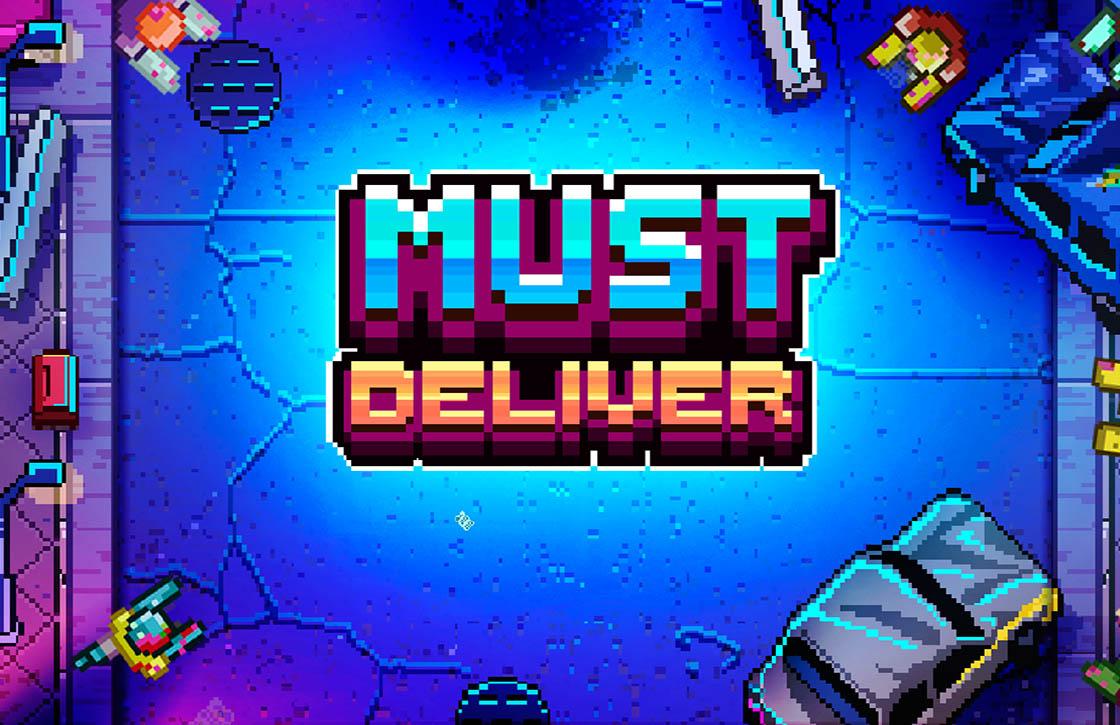 Must Deliver: oneindige game met een toffe 8-bit stijl