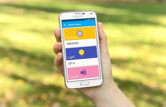 Sensor Sense toont informatie over de sensoren in je Android
