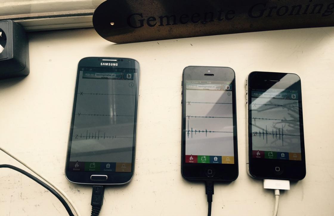 Meet aardbevingen met je smartphone via Bevingmeter