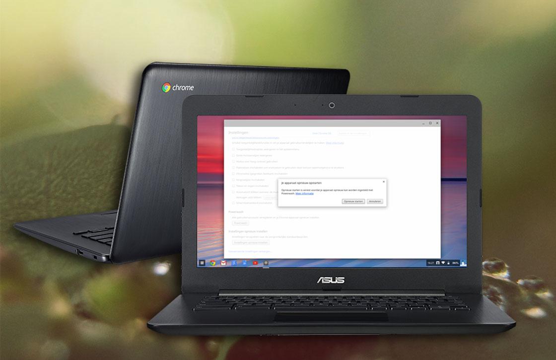 In 4 stappen je Chromebook resetten en opschonen
