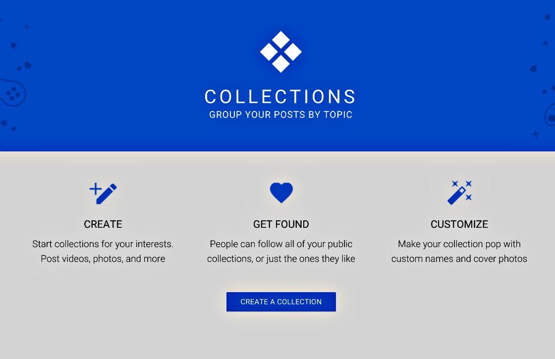 Google+ laat gebruikers posts samenvoegen onder collecties