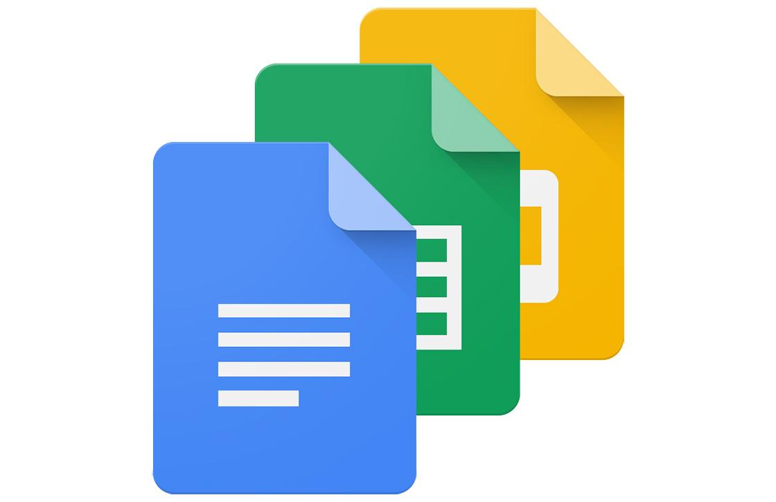 Google-apps voorzien van nieuwe bewerkingsfuncties