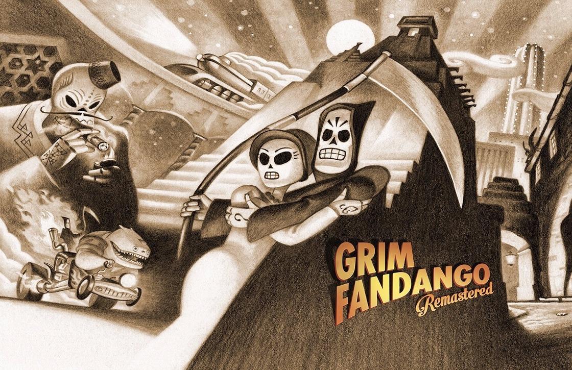 Cultklassieker en avontuurgame Grim Fandango uit voor Android