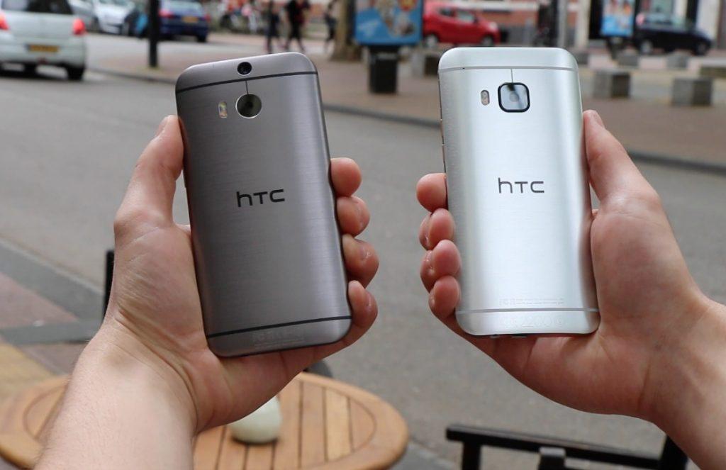 De high-end smartphones van HTC verkopen beneden verwachting.