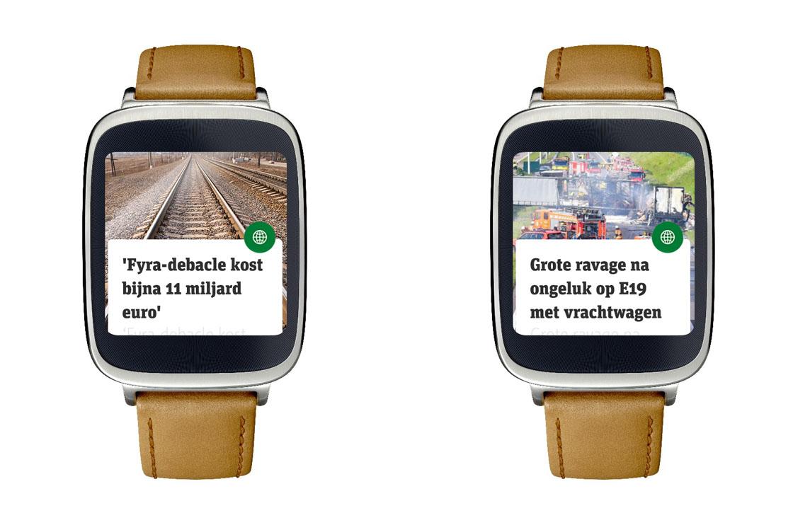Metro komt met smartwatch-app voor Android Wear