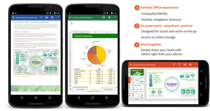 Office-apps voor Android