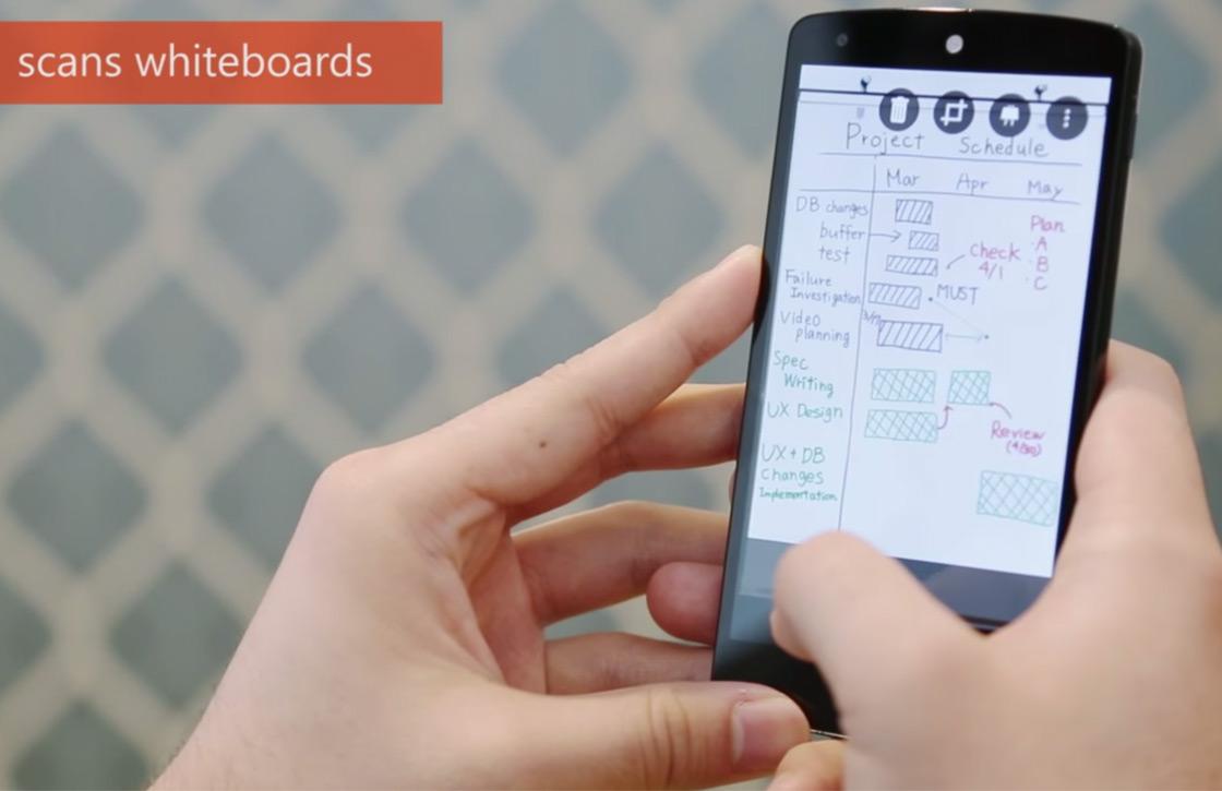 Scan-app Office Lens van Microsoft verschijnt officieel voor Android
