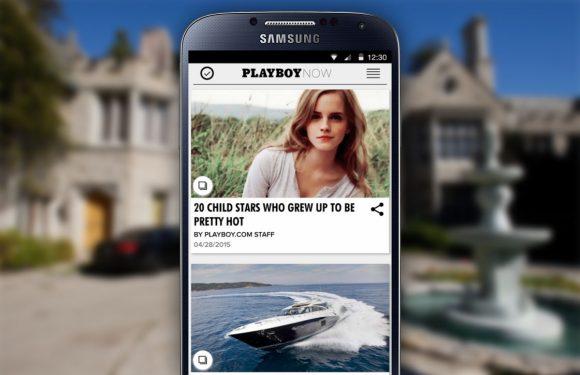 Nieuwe Playboy-app voor Android: veel tekst, weinig naakt