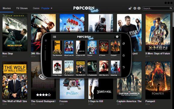 popcorn time android-versie