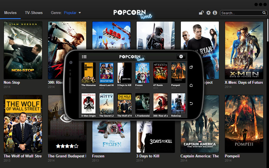popcorn time android-versie
