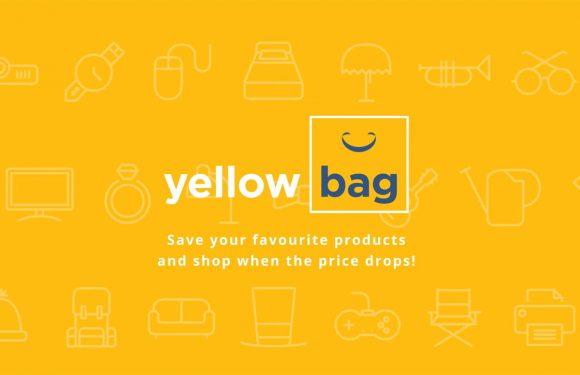 Yellowbag: volg prijsdalingen van je favoriete producten
