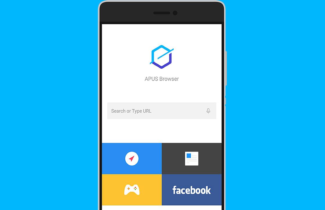 APUS Browser is een fijne en lichte browser voor je Android