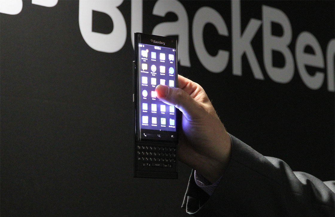 'Specificaties BlackBerry Android-smartphone gelekt'
