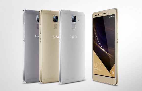 Honor 7 aangekondigd: metalen design en high-end specs