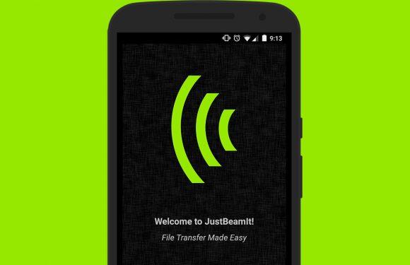 JustBeamIt maakt bestanden delen met je Android makkelijk