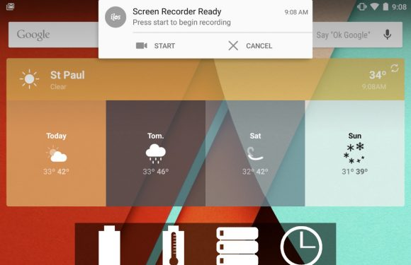 Neem het scherm van je Android op met Lollipop Screen Recorder