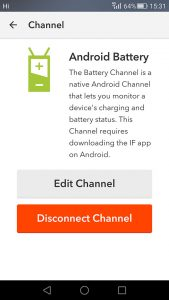 Android Battery Channel