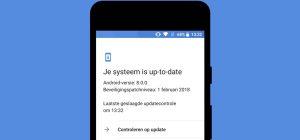 Gids: alles over Android-beveiligingsupdates
