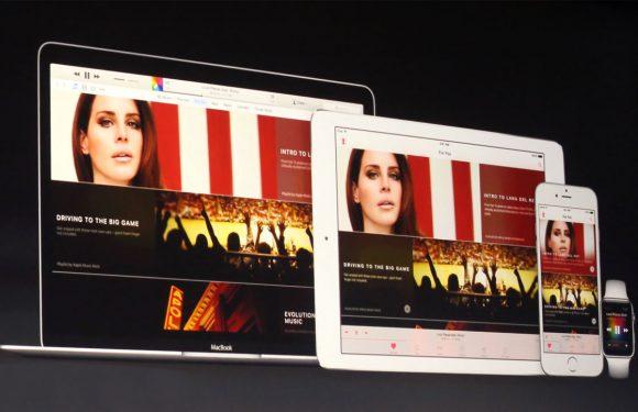 'Gratis functies Apple Music niet voor Android-gebruikers'