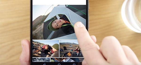 google foto's video's delen