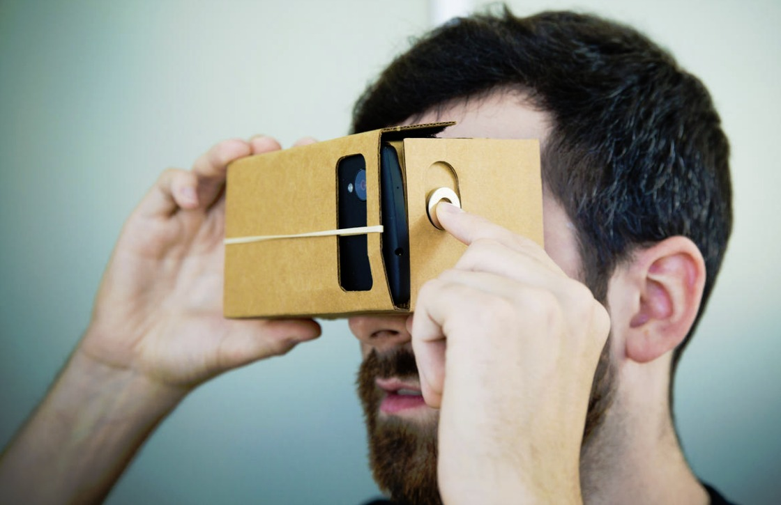 Maak virtual reality-foto's met Cardboard Camera