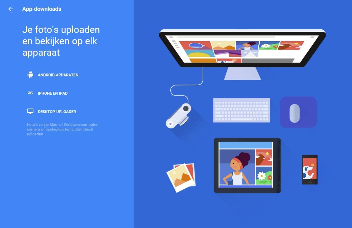 Download de Google Foto's desktop-app om al je foto's te back-uppen