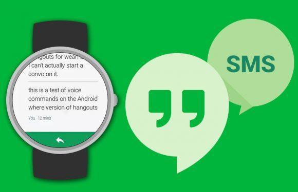 Google Hangouts op Android Wear: zo ziet dat eruit