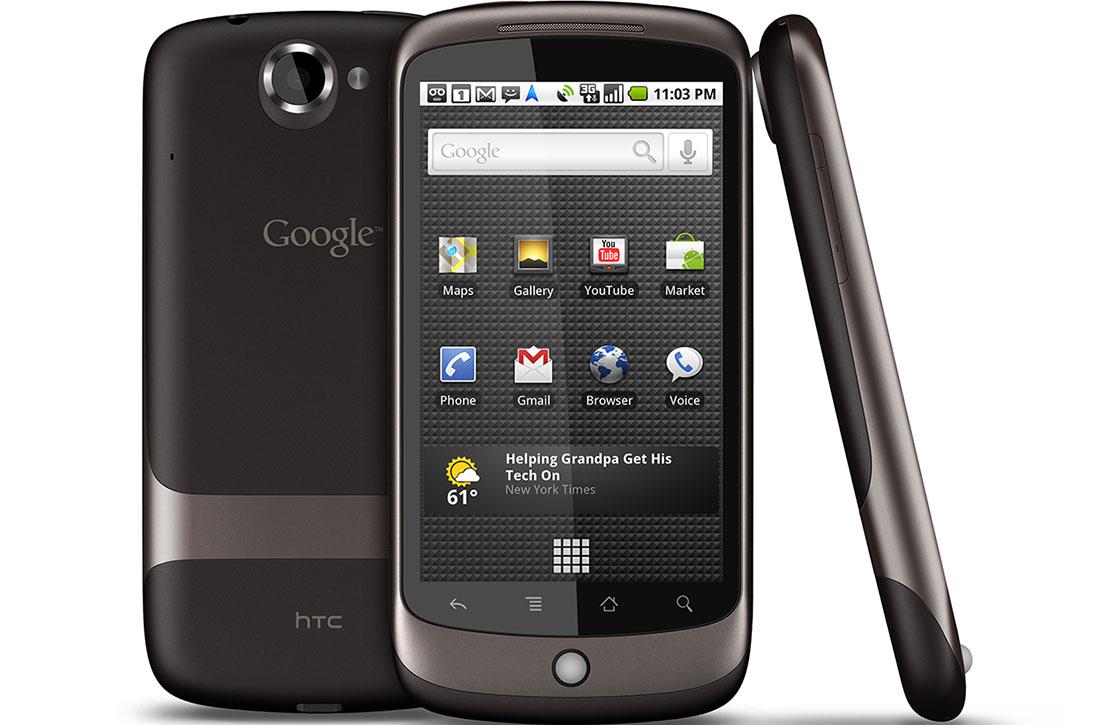Google Nexus One review: het eerste Nexus-toestel van Google