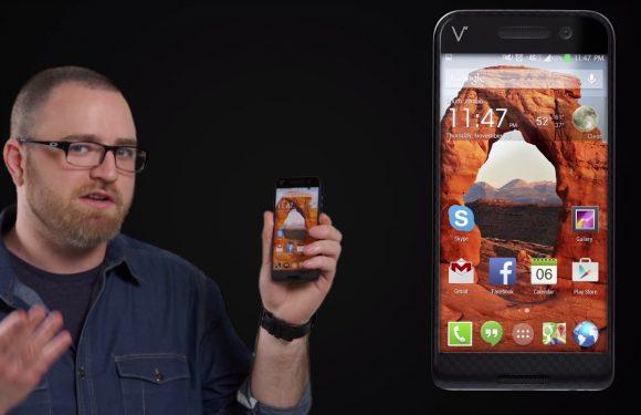 Deze smartphone op Indiegogo heeft 464GB opslagruimte