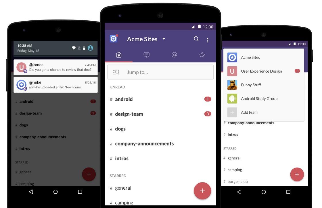 Slack-app is stuk sneller en voorzien van Material Design