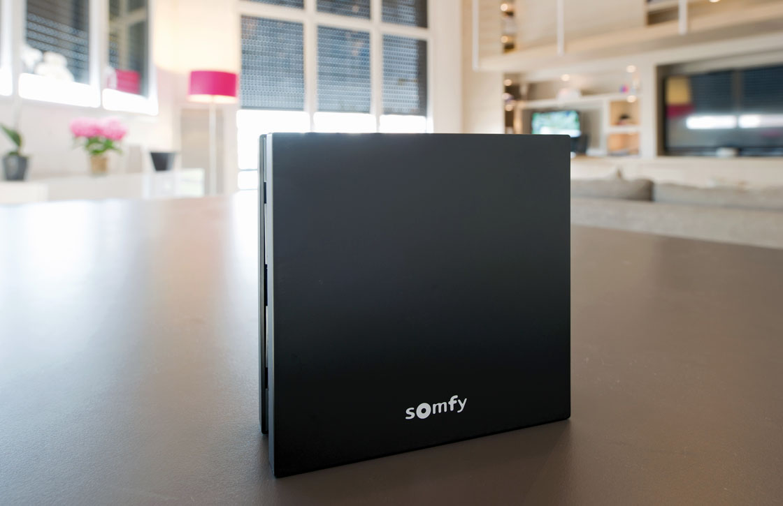 somfy box review functioneel domoticasysteem met app. Black Bedroom Furniture Sets. Home Design Ideas