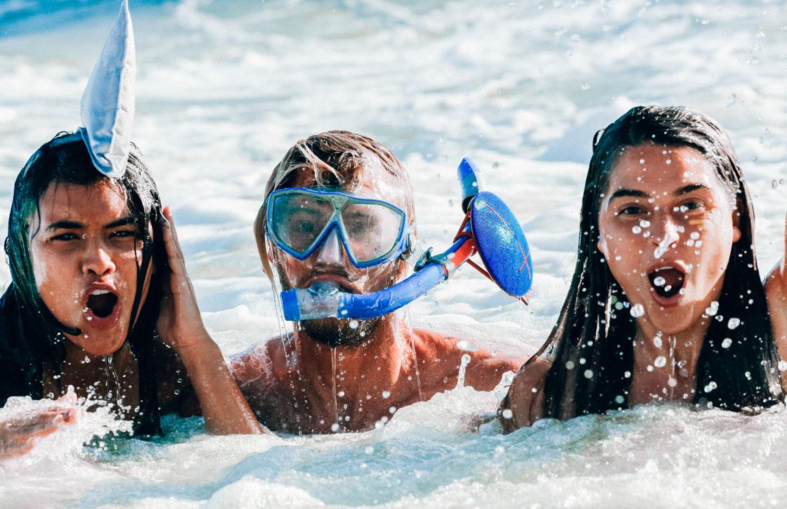 UE ROLL: ideale bluetoothspeaker voor strandfeestjes