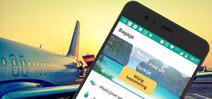 Vliegen met je smartphone: handige apps