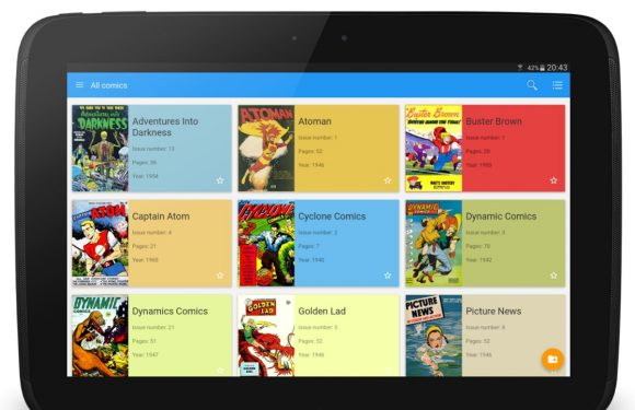 Lees comics in Material Design met Material Comic Viewer