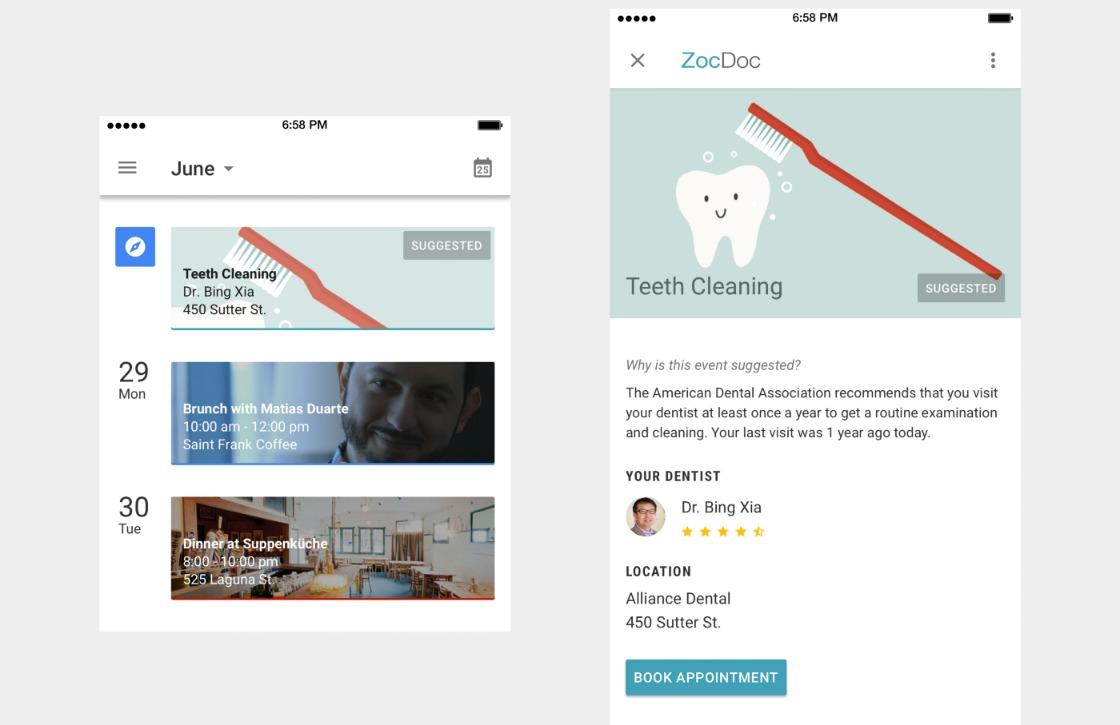 Google Calendar Design : Google calendar design concept laat zien hoe mooi