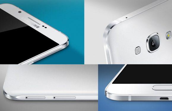 Samsung introduceert indrukwekkende en zeer dunne A8
