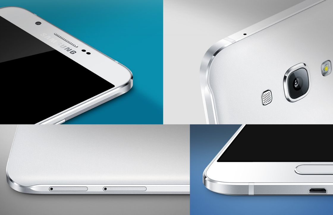 'Galaxy A8 heeft dubbele selfiecamera, vingerafdrukscanner achterop'