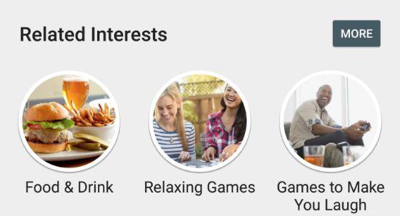 gerelateerde interesses