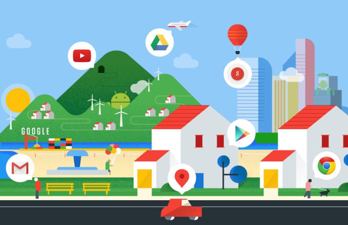 Google toont hoe druk het is bij bedrijven