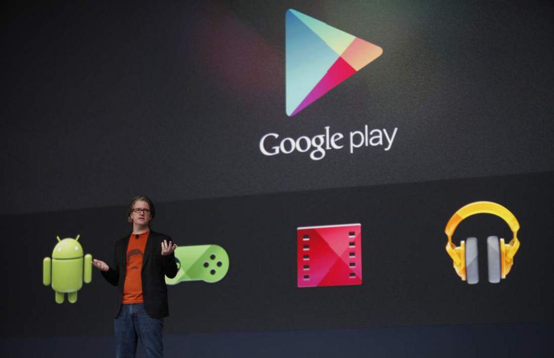 Google Play toont gerelateerde interesses bij apps en games