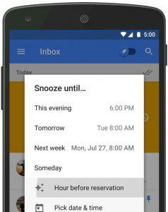 inbox by gmail berichten