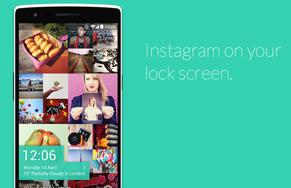 Deze app toont Instagram-foto's op je lockscreen