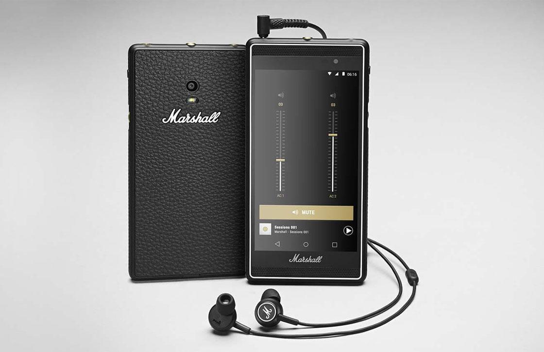 Marshall London: interessante smartphone voor muziekliefhebbers
