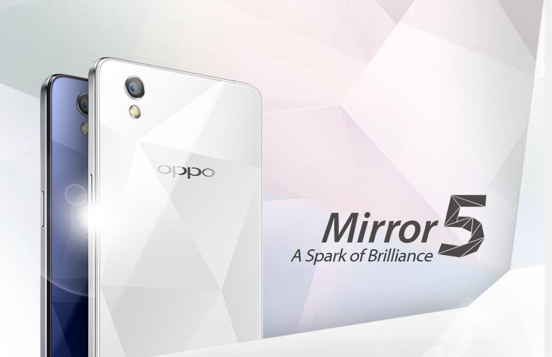 Oppo introduceert midrange Mirror 5 met diamant-achtige achterkant