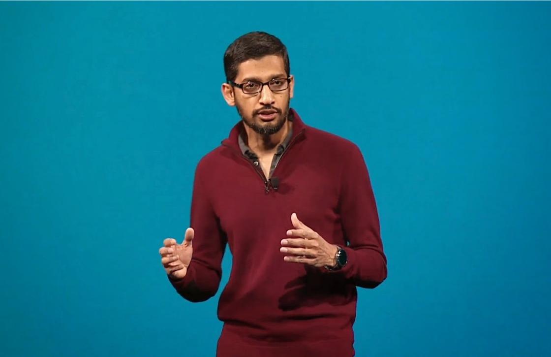 Googles Sunder Pichai vindt smartphones vaak te afleidend